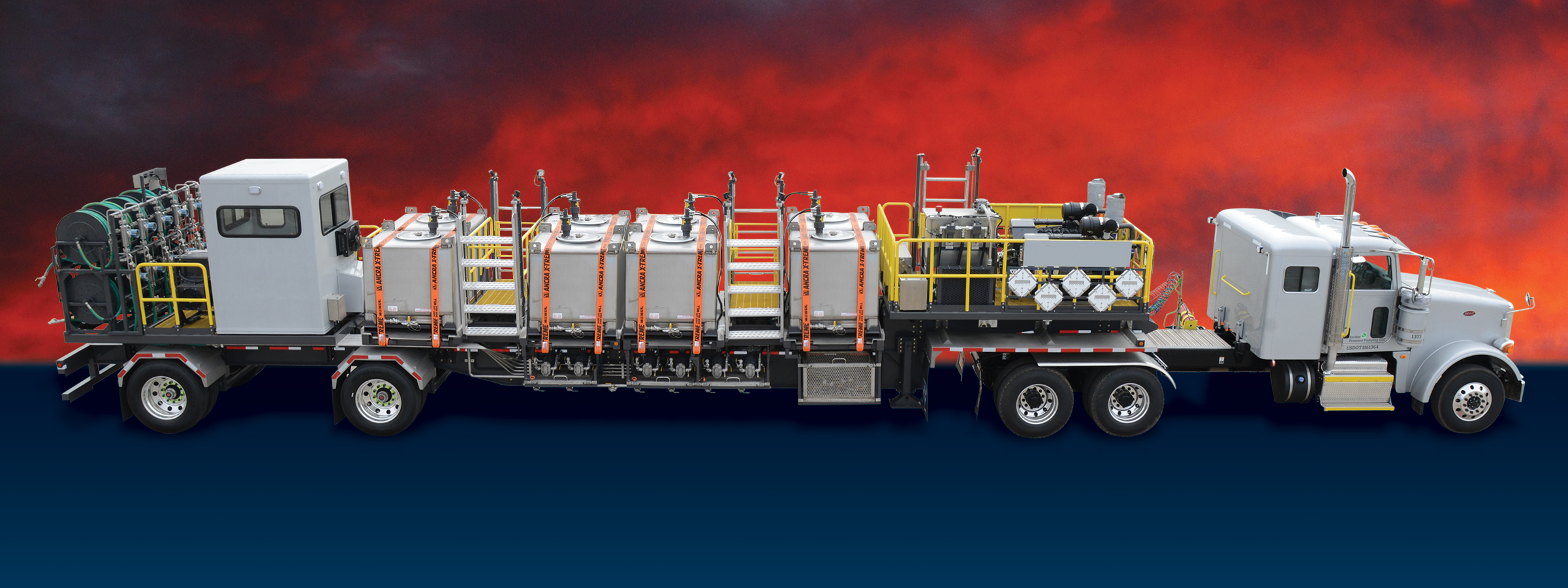 Chemical Additive Units | Well Service Pumping Equipment
